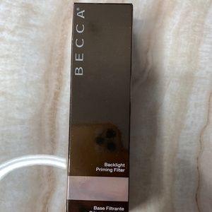 Becca Backlight Priming Filter Brand New in Box